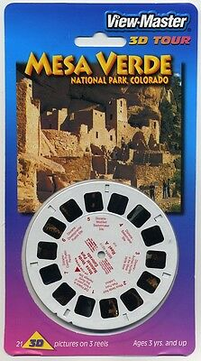 Mesa Verde National Park Colorado View-Master Packet Sealed Mint