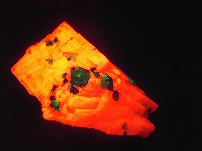 Huge!  Willemite  In Calcite Sterling Hill Mine New Jersey
