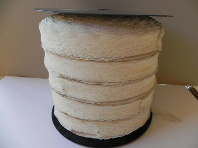 New Very Large Roll of Cream Lace - 780mts
