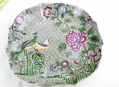 Antique Copelane Spode Devonia Serving Plate Dish Oriental Looking