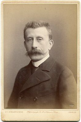 Moritz Moszkowski German Jewish Composer Pianist 1892 Cabinet Card Photo