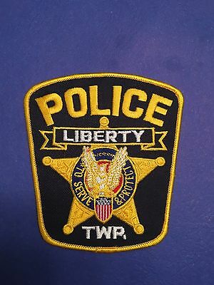 Liberty County Ohio Police Shoulder Patch