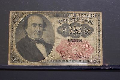 1874 Twenty-Five Cent Fractional Currency Note