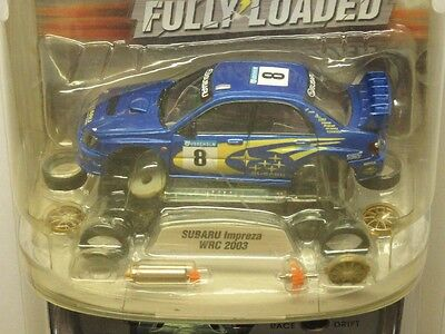 1/43 Subaru Impreza Wrc 2003 R/c Racer-New Condition-Complete