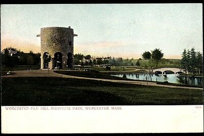 Ak Worcester Massachusetts, general view of Worcester Old Mill... - 695166