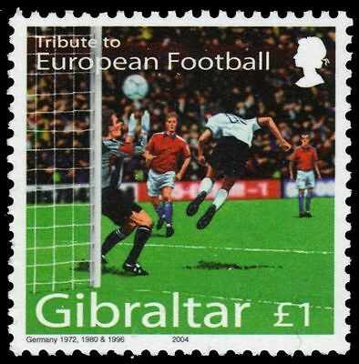 "GIBRALTAR 974 - Tribute to European Football ""Soccer Players"" (pa79381)"