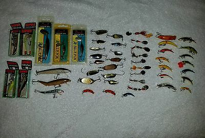 Huge fishing lure lot rapala lures vibrax spoon trout bass fish jig