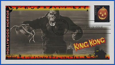 Halloween Classic Movie Monsters First Day Cover 2016: King Kong #491