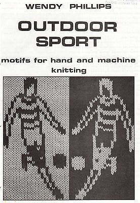 Outdoor Sport - Motif For Hand And Machine Knitting