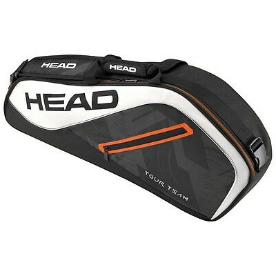 Head Tour Team Pro 3 Rackets Black   White Borse porta-racchette