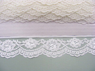 Flat Lace Cream  x 15 meters (215)