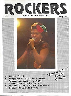 Rockers  Your #1 Reggae Magazine   May 1992  ( Marcia Griffths, Inner Circle