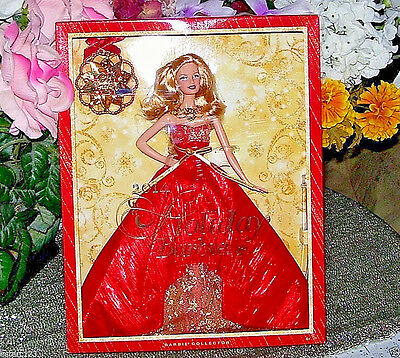 """Holiday Barbie Doll 11"""" with Ornament Walmart Exclusive Collector 2014 CHRISTMAS"""