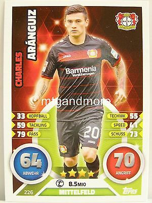 Match Attax Action 19//20 2019 20202-450 CHARLES ARANGUIZ Base Carte