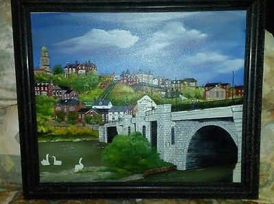 Original Oil painting. Signed and framed. Lovely