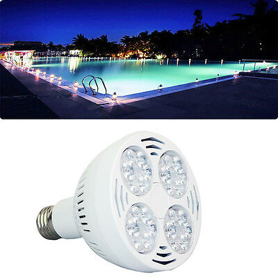 IN GROUND ABOVE Ground Swimming Pool LED Light Underwater ...