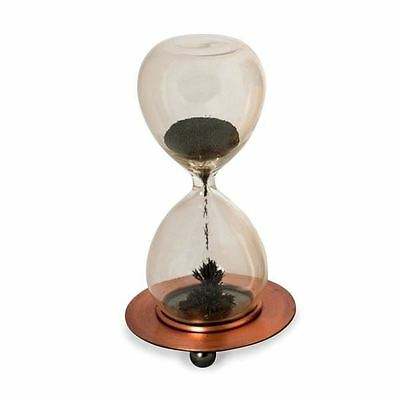 Magnetic Timer Iron Filled Half Minute Glass Hourglass Executive Desk Toy