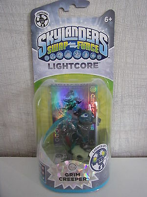 Skylanders Swap Force Lightcore Grim Creeper - Neu & OVP