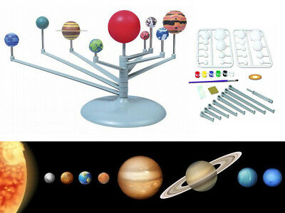 Solar System Planetarium Model Kit Astronomy Science Project Learn Diy Game