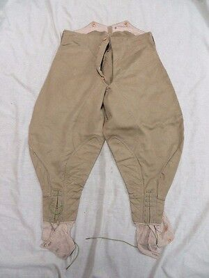 Original Ww1 Pattern Cavalry Troopers Tropical Breeches