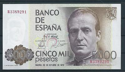 billete de 5000 pesetas SC