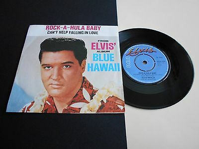 """ELVIS PRESLEY """"Rock-A-Hula Baby"""" 1961 Re-Issue 7"""" EX++"""