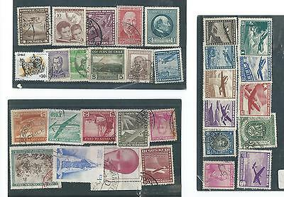 Chile Used Stamp Collection