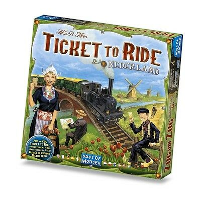 Ticket To Ride Map Collection Volume 4 Nederlands Brand New