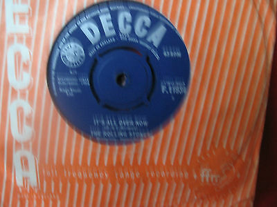 """The Rolling Stones 1964 """"its All Over Now"""" Decca F.11934"""