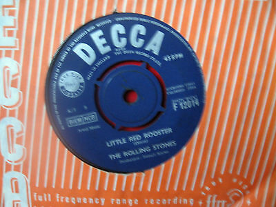"""The Rolling Stones 1964 """" Little Red Rooster"""" Decca F.12014"""