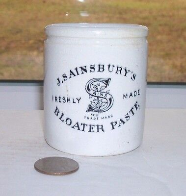 Nice Pottery Potted Meat, J Sainsbury's Freshly Made Bloater Paste