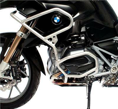 Bmw R1200Gs Lc 2013-2016 Cross Pro Silver Upper & Lower Engine Crash Bars Guards