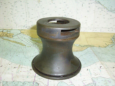 """Boaters' Resale Shop of Tx 1604 2124.12 VINTAGE BRONZE 3-1/2"""" WINCH (SEE PHOTOS)"""