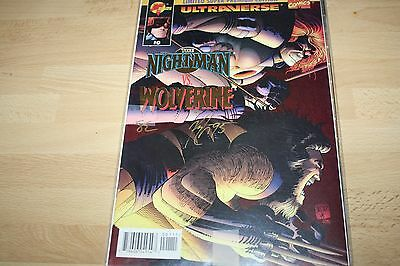WOLVERINE SIGNED  MARVEL   comics  DYNAMIC FORCES