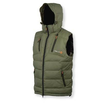 Prologic NEW Fishing Green Thermo Carp Vest Gilet Bodywarmer *All Sizes*