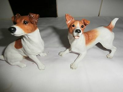 Two Jack Russell Dogs - Ornaments