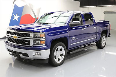 2014 Chevrolet Silverado 1500 LTZ Crew Cab Pickup 4-Door 2014 CHEVY SILVERADO LTZ TEXAS CREW SUNROOF NAV 59K MI #150653 Texas Direct Auto
