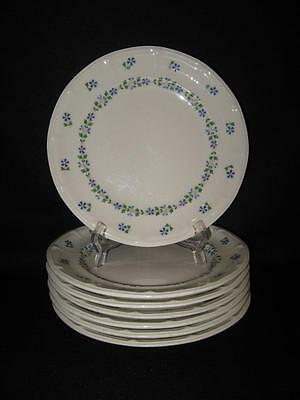 Iroquois Museum Collection Periwinkle Dinner Plates - Seven