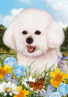 Large Indoor/Outdoor Summer Flag - Bichon Frise 18037
