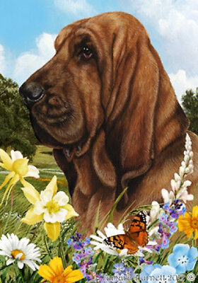 Large Indoor/Outdoor Summer Flag - Bloodhound 18073