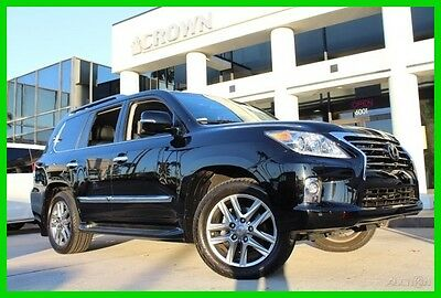 2014 Lexus LX 100k Mile Warranty 1 Owner Florida Vehicle 2014 Used Certified 5.7L V8 32V Automatic 4WD SUV Moonroof Premium