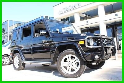 2012 Mercedes-Benz G-Class Hard To Find In This Condition! Super Low Miles! 2012 G550 Used 5.5L V8 32V Automatic 4MATIC SUV Moonroof Premium