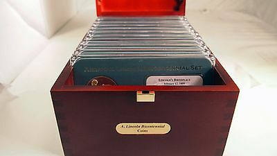 2009 1c Lincoln Cent American Mint Bicentennial Coin & Medal Complete Set of 12
