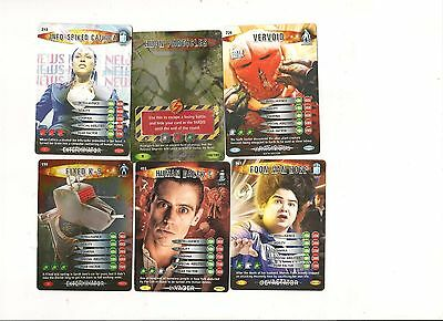 20 Different Dr Who Battles In Time Cards Of Your Choice In Excellent Condition