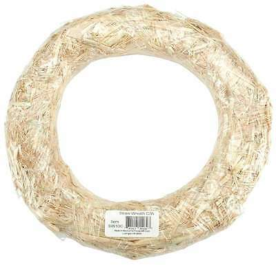Straw Wreath 12 Inch-Natural 737017009015