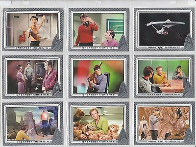 2017 Star Trek 50Th Anniversary Base Card Set Of 100 Cards With Wrapper