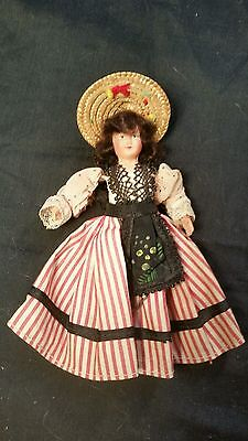Celluloid doll vintage 6""