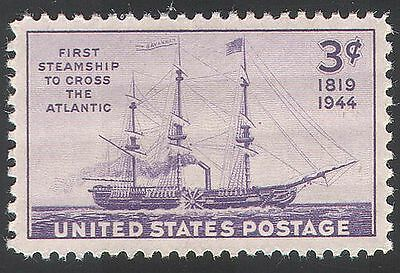 USA 1944 Ships/Boats/Nautical/Transport/Steam 1v n29296