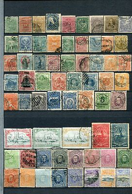 LATIN AMERICA Early M&U COLLECTION 260 Stamps