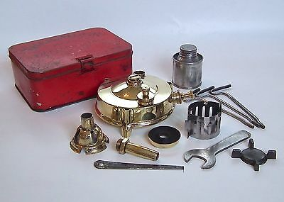Old Vintage SH & S B Thermidor Pressure Operated Kerosene Wickless Camping Stove